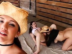 Amateur young wifey shared with companions and films RANCH