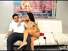 Nubile Perceives Horny To See Young Stud In Her Room