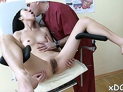 Doctor and his sexy patient had a highly good time jointly