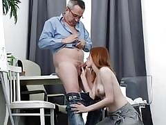 Old lecturer tricks his student