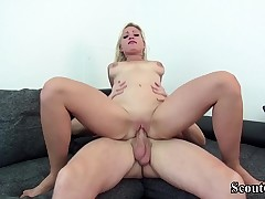GERMAN SCOUT - SEDUCE HOT TEEN GABI GOLD TO FUCK AT CASTING