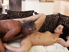 Old man fucks big tits milf and father camper What would you