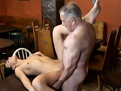DADDY4K. Aged and young paramours have fun when athletic boy...