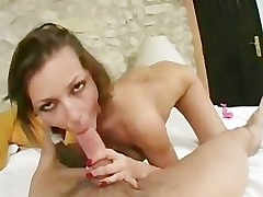 Pov Audition Jennifer SF Deep throat Facial popshot